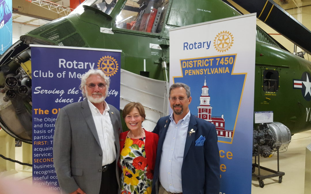 Rotary Club of Media is One in 35,000